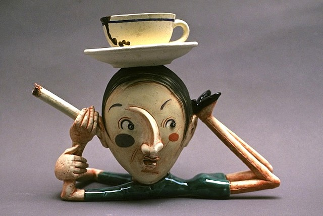 """Two Sins"" Teapot"