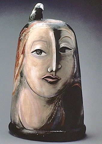 """Bird Woman"" Jar Head"