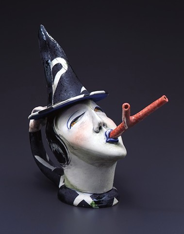 """Witch With Forked Tongue"" Teapot"