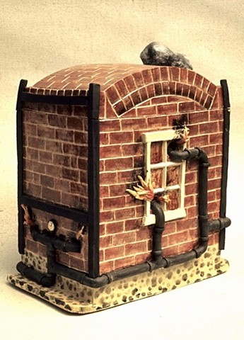 """Kiln With Blowers"""