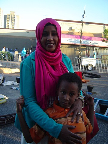 Mother & Child at Somali Independence Day