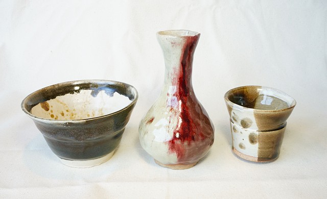Bowl, Bottle, & Cup
