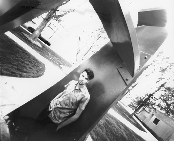 Pinhole Camera - Self Portrait