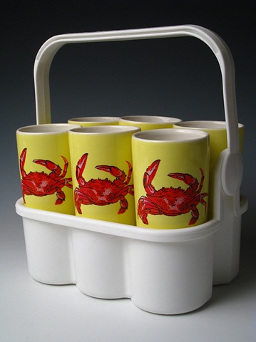 RED CRABS SIX PACK
