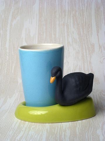 BLACK SWAN BLUE CUP