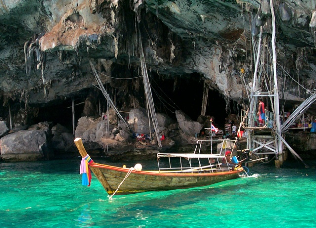 Boat-Phi Phi Islands, Thailand