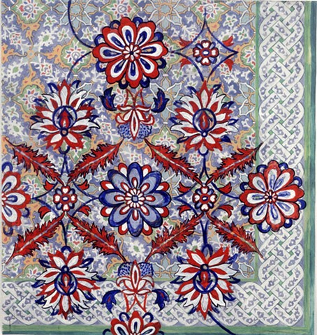 Persian design and art