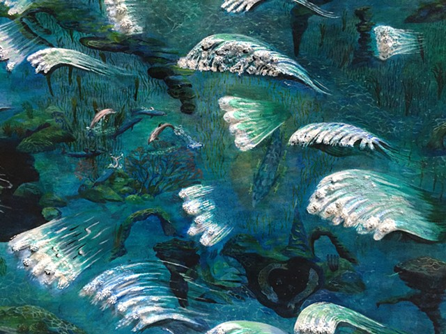 "Detail from ""Midwesterner's Dream of the Ocean"""
