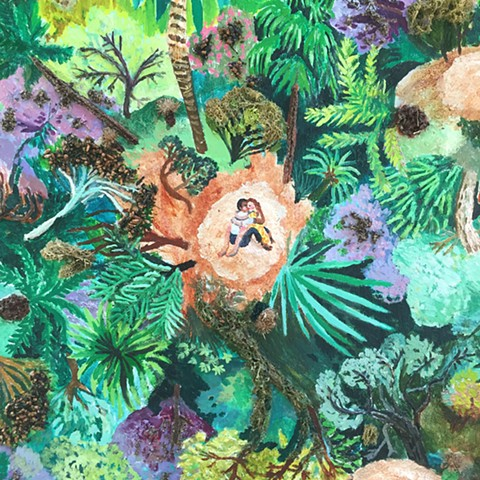 "Detail from ""A Marriage in The Jungle"""