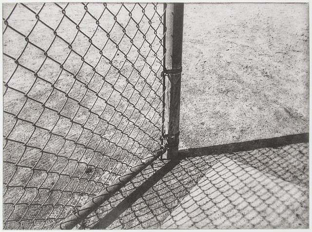"Polymer photogravure print ""Shadow Point"" by John Pearson"
