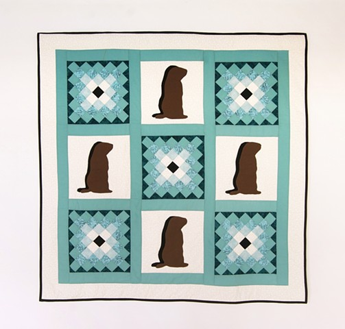 Groundhog Day Wall Hanging