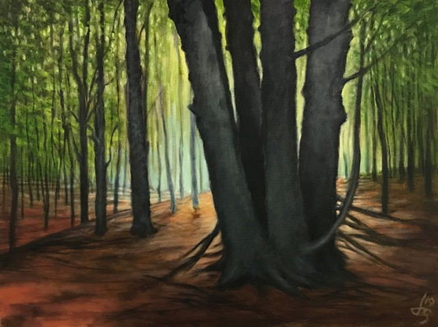 Maples in the Woods - SOLD