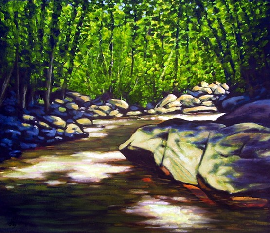 Sun on the Creek - SOLD