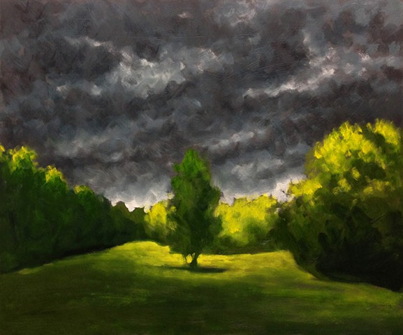 Storm Over the Pasture