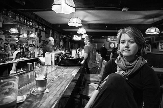 Nancy at  Moynagh's, 10-1-11