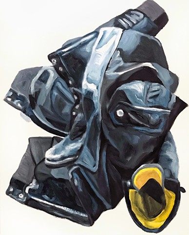 Oil boots jacket repetition
