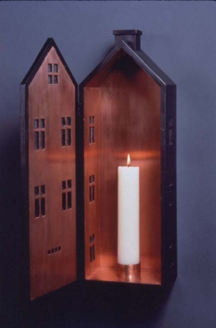 House Candle Sconce