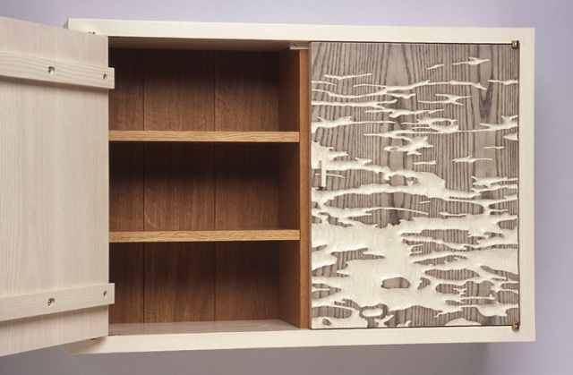 Wall cabinet with Tidal Image