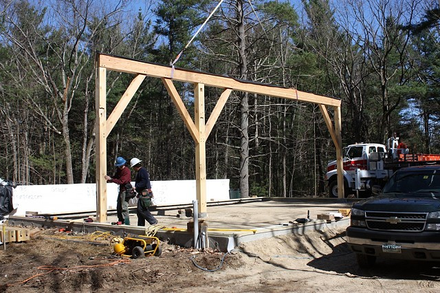 Studio timber raising