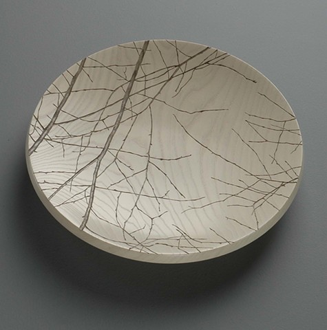 Platter with Branches