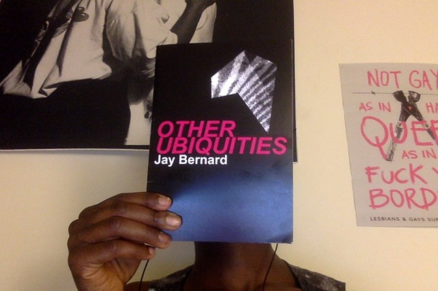 Other Ubiquities - a short zine I made for a reading alongside Eileen Myles and Isabel Waidner with the Centre for Feminist Research