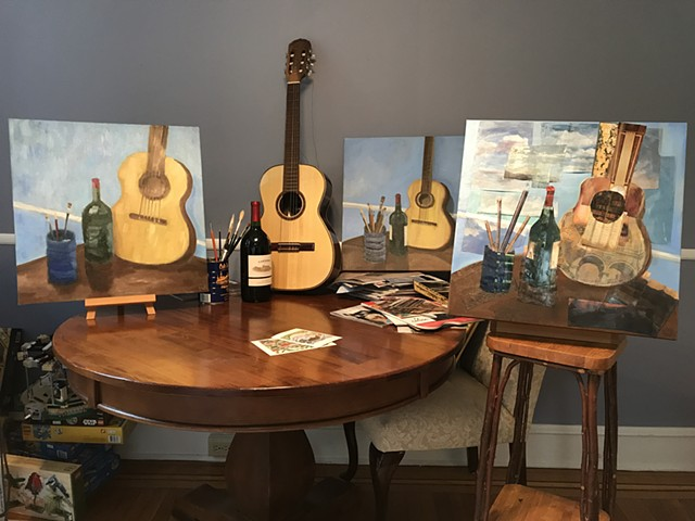 photo of guitar series by Kate Harr
