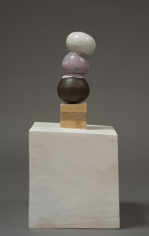 ceramic Sculpture by jeff Krueger