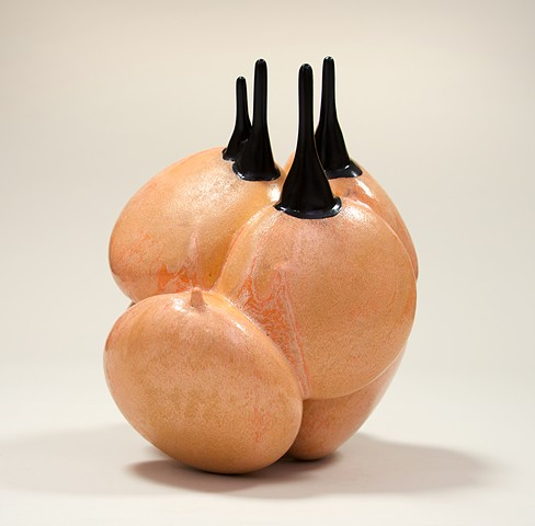 ceramic sculpture, Jeff Krueger