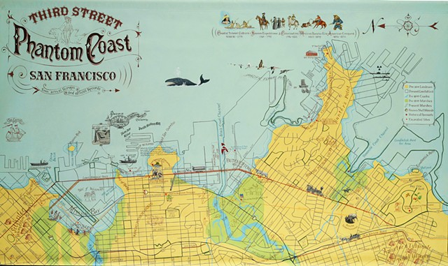 Third Street Phantom Coast Map