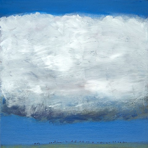 Desert Caravan jazz standard landscape cloud sky abstract contemporary
