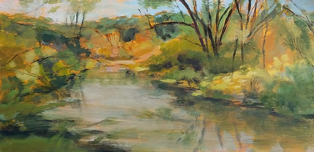 Fall Landscape, Nashoba Brook (*Sold)