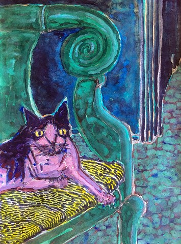 Green Spiral, The Cat Waits