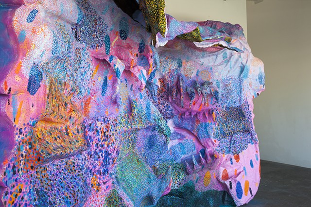 sculptural painting