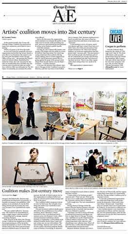 Chicago Tribune-Bolt Residency