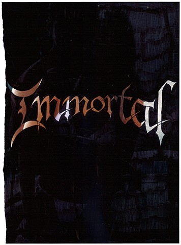 Immortal Logo on Dolce and Gabbana Ad