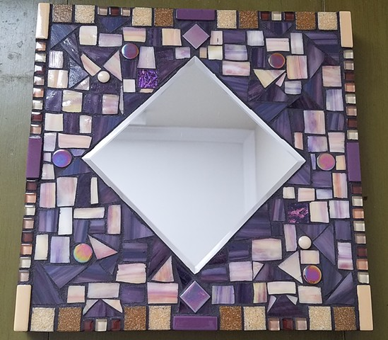 Heather Purple Mirror (SOLD)