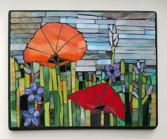 Orange Poppy (SOLD)