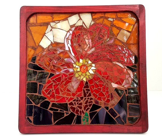 Red Flower (SOLD)