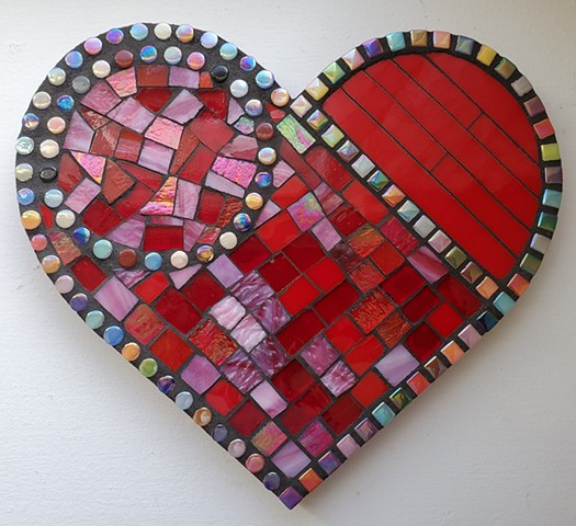 Divided Heart II (Special Order-SOLD)