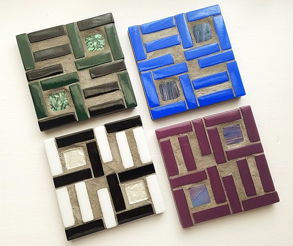 Subway Tile Coaster set (SOLD)