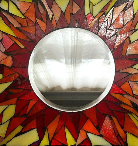 Sunburst Mirror (SOLD)