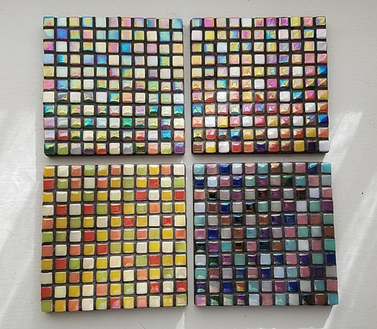 Mini Tile coaster set (price is per piece) (SOLD)