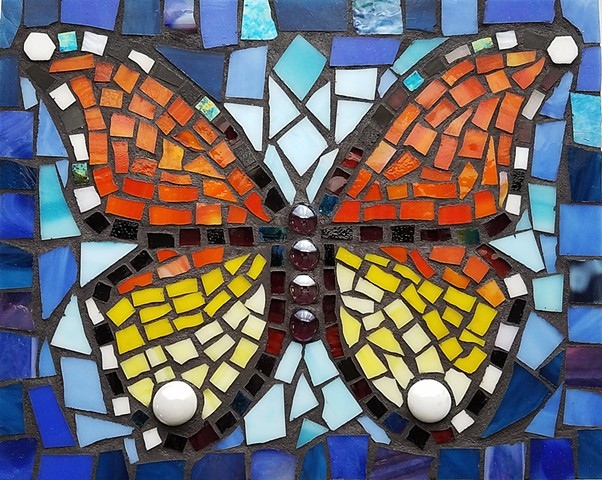 Butterfly in Blue (SOLD)