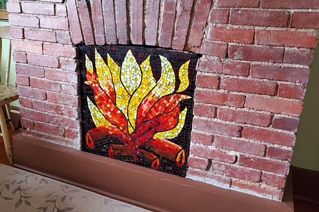 Faux Fire (Special Order-SOLD)