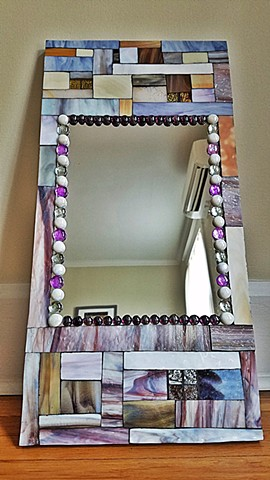 Morning Glory mirror (SOLD)