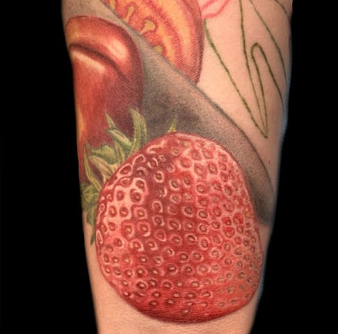 Strawberry section of Still Life.