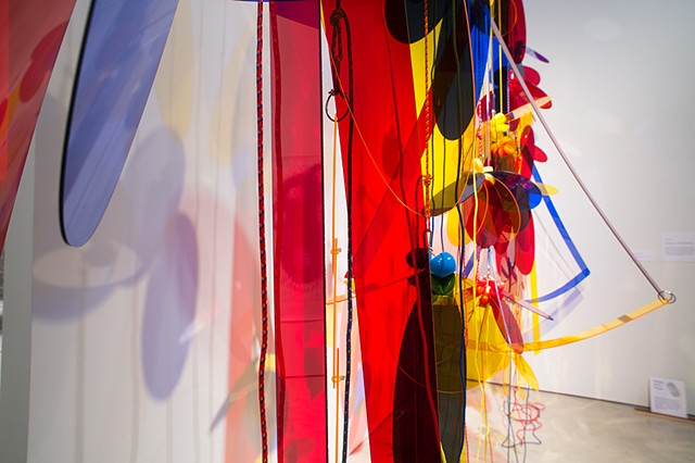 That Red. That Blue. That Yellow. 2014 AGW Triennial(Photo by Frank Piccolo)
