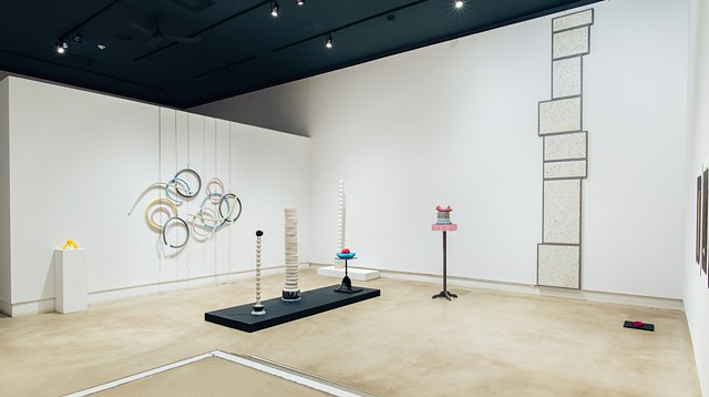 Installation view: OUROBOROS etc., (Bitter as Her Name)