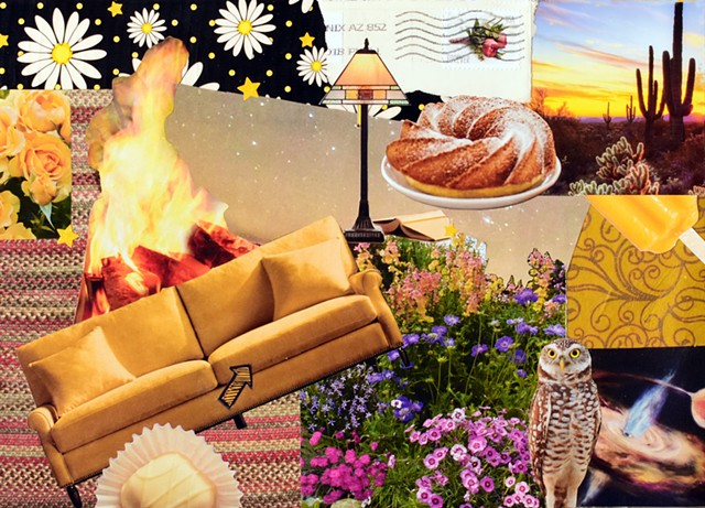 yellow, couches, bundt cake, owls, popcicles, lamps, fire, roses, flowers, candy, space black holes