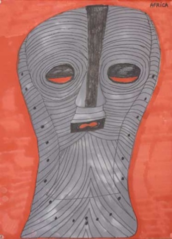 Mask from the Congo